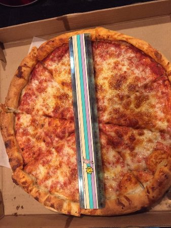 "Cockeysville, MD: ""Large"" pizza advertised as 15-inch, but it measures 12 inches."