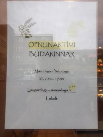 Olafsvik, Islandia: Opening hours