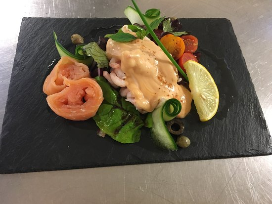 Columba House Hotel: Dishes from the restaurant