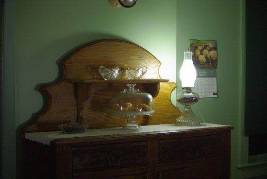 Strasburg, Pensilvanya: in casa lampade a petrolio