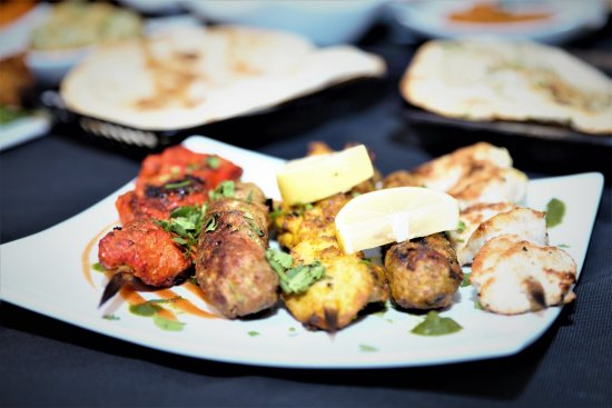 Kababish Cafe: Assortment Tandoori Kababs