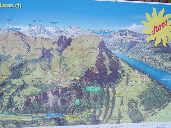 Carte De Stoos Picture Of Stoosbahnen Schwyz Tripadvisor