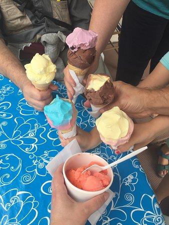 Fairmont Hot Springs, Canadá: Family ice cream!
