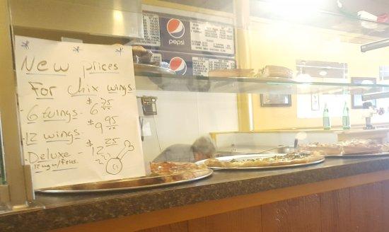 Kingston, Estado de Nueva York: Good slices and food