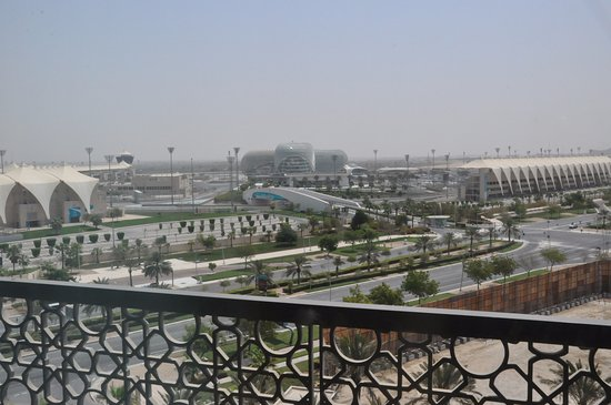 Yas Island Rotana: Our view from room