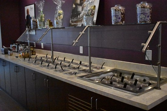 Kenmore, Estado de Nueva York: Toppings bar