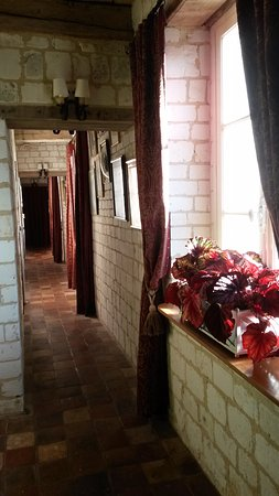 Pas-de-Calais, Francia: Hallway to bedrooms