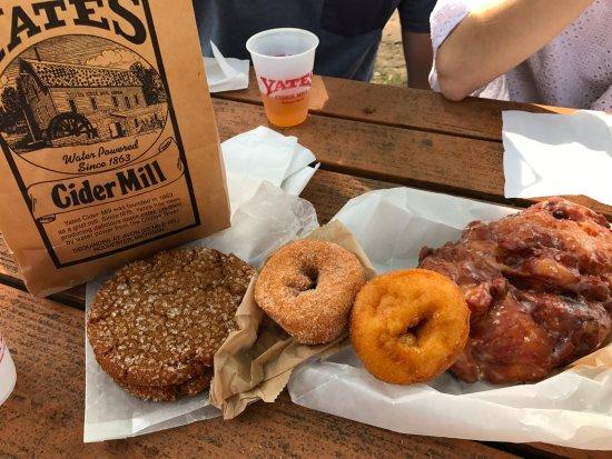 โรเชสเตอร์ฮิลส์, มิชิแกน: donuts, apple fritter and molasses cookie
