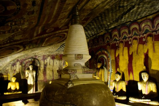 Dambulla, Sri Lanka: dentro