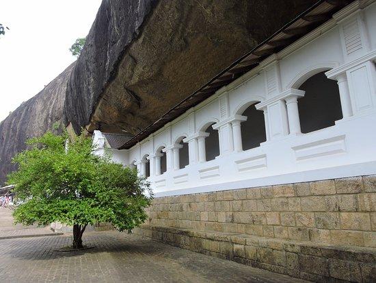Dambulla, Sri Lanka: exterior