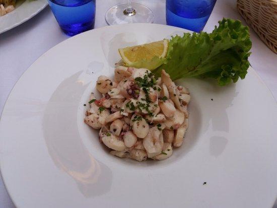 Ristorante Taverna Al Canevon: Octopussalat
