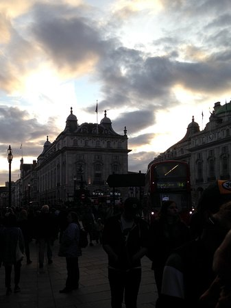 Photo of Piccadilly Circus in London, , GB