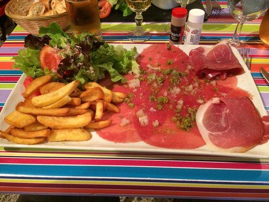 Ruoms, Frankrike: assiette italienne