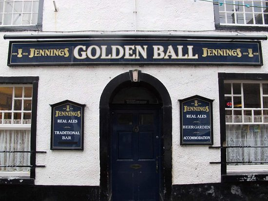 Appleby, UK: Golden Ball