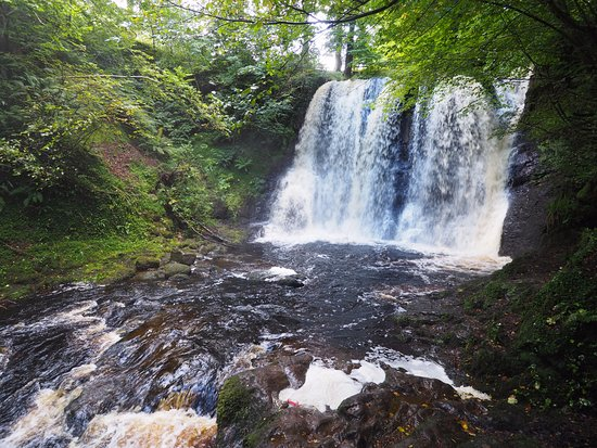 Laragh Lodge: waterfalls