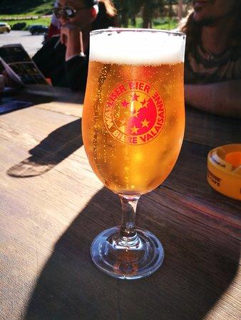 Siviez, Switzerland: La bière du valais