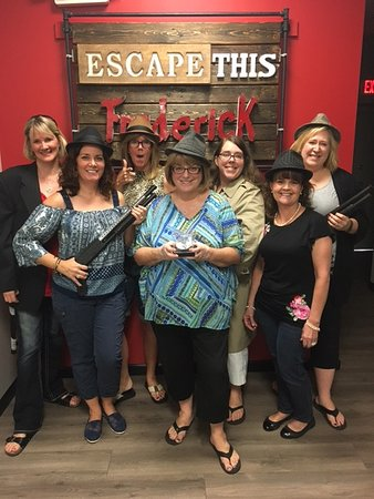 "Frederick, MD : Our ""we escaped and recovered the stolen diamond"" photo"