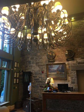 Glaslough, أيرلندا: Reception area