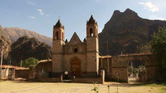 Abancay, Περού: iglesia de la hacienda yaca