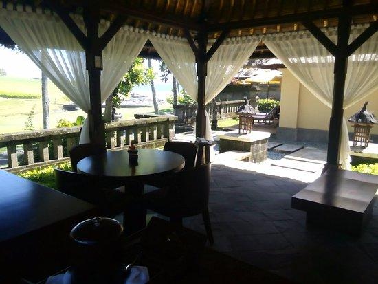 Pan Pacific Nirwana Bali Resort: Private Gazebo outside the Villa