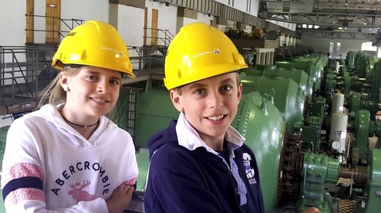 Trollhattan, Suecia: Olidan vattenkraftstation