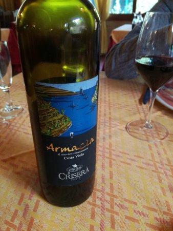 Coltano, Italy: Armacìa, vino eroico calabrese.