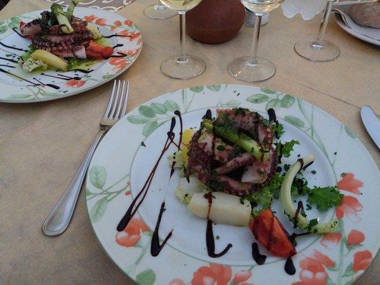 Al Giardino: Octopus auf Kartoffelsalat