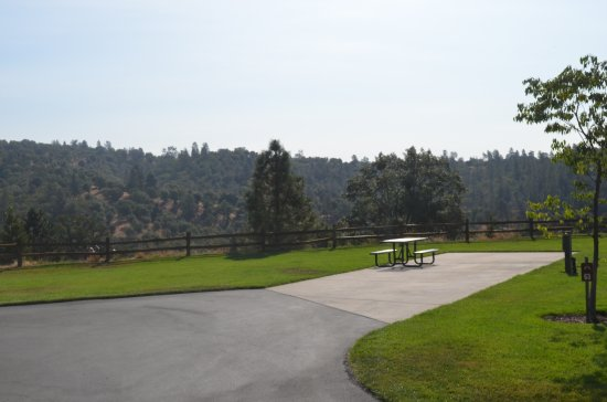 Jackson Rancheria RV Park : One of the large back-in sites at the RV park.