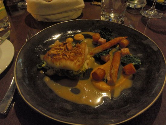 The Cottage in the Wood: lovely fish dish