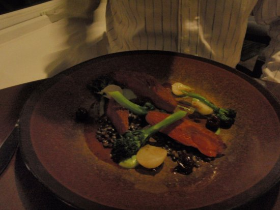 The Cottage in the Wood: main course