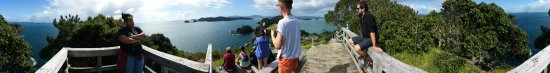 Paihia, Νέα Ζηλανδία: Russel panorama of bay