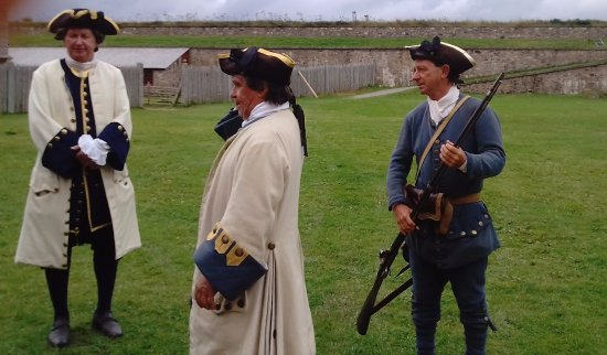 Louisbourg, Canada: The Soldiers