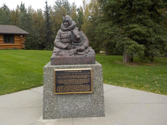 Wasilla, Αλάσκα: Statue