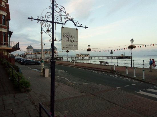 Penarth, UK: PROM VIEW OF PIER