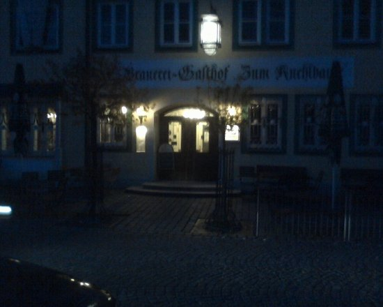 Zum Kuchlbauer: Front of the restarurant