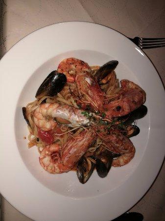Sheldon, UK: The seafood linguine