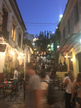 Monastiraki: Plaka is near