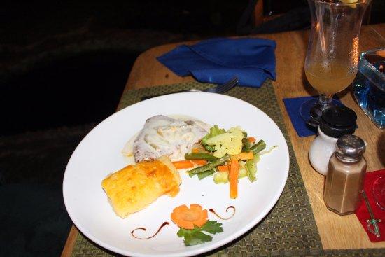 Hotel Banana Azul: great meals.