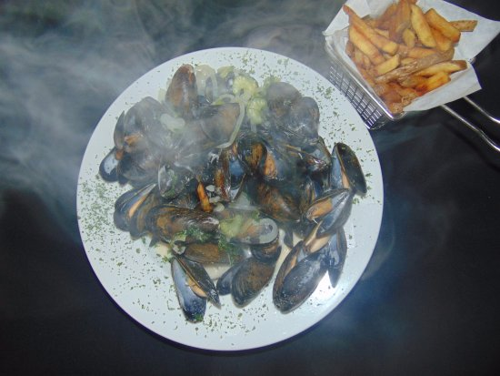 Saint Andre-Avellin, Canadá: Moules marinières