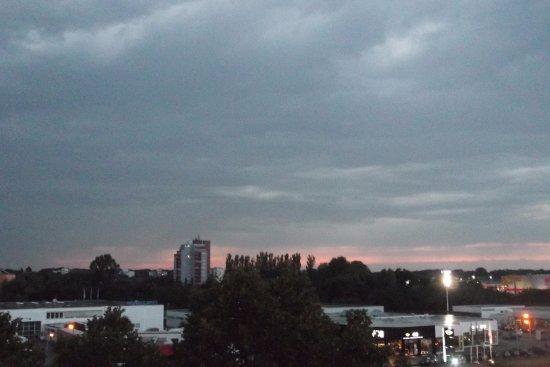 Offenburg, Allemagne : Vista que teniamos desde la habitacion, cuarta planta