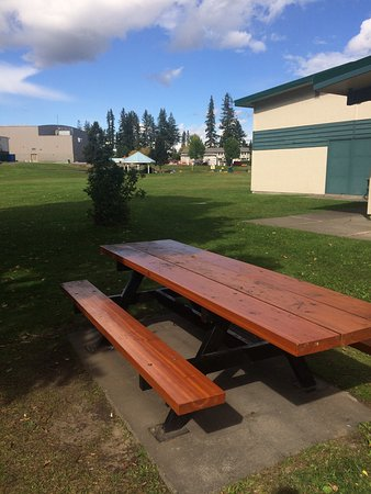 Quesnel, كندا: Family friendly park