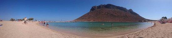 Stavros, Greece: Zatoka przy Golden Bay
