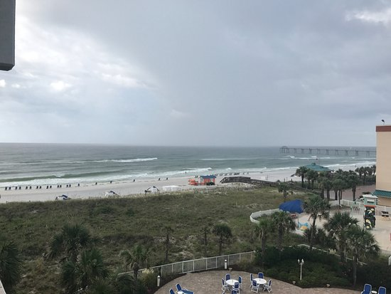 Destin West Beach and Bay Resort: View from Room 504 balcony