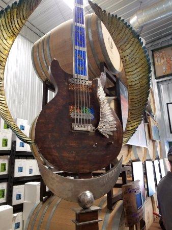 Paso Robles, CA: guitar for Carlos Santana