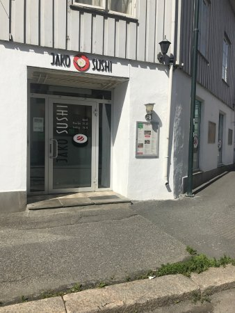 Gjovik Municipality, Norway: Takeaway inngang