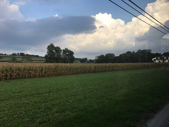 Strasburg, Pensilvania: Visita y Tour a The Amish Village, paisajes preciosos
