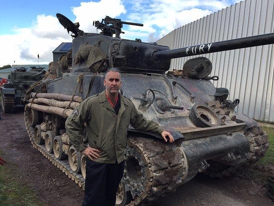 tank museum sherman tank fury from the movie fury