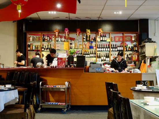 busy restaurant scene. Dragons Chinese Restaurant: Front Counter, A Busy Scene Restaurant
