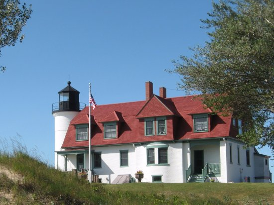 Frankfort, Μίσιγκαν: Point Betsie Lighthouse.