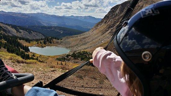 Винтер-Парк, Колорадо: View of Deadman Lake on the Continental Divide, 11,600ft.